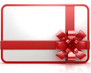 Et gavekort til ham / hende der ikke ønsker sig noget