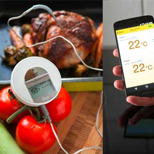Smart bluetooth stegetermometer til telefonen