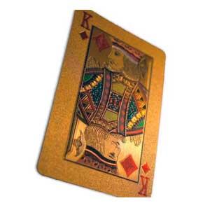 Guld spillekort