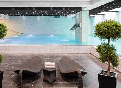 Tivoli Hotel har et stort wellness område