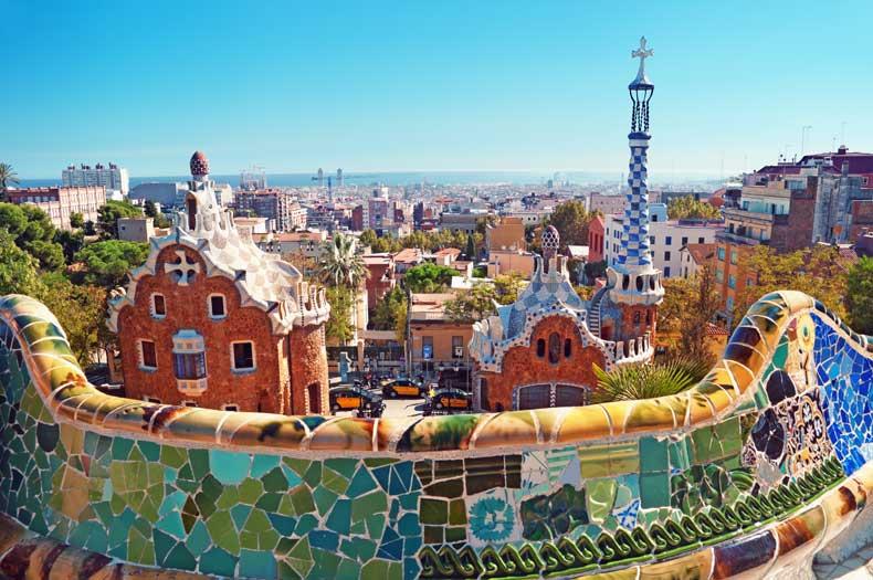 Weekendophold til Barcelona