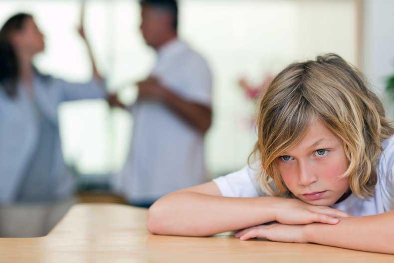 Når mor og far skændes