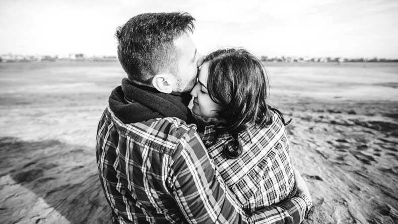 Par der nyder livet sammen