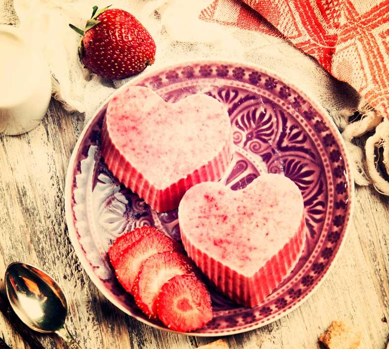 Romantisk dessert