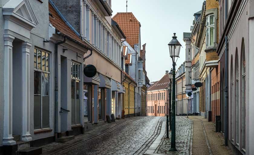 En gade i Viborg