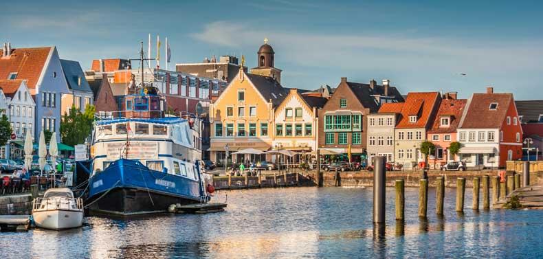 Flensburg set fra vandet