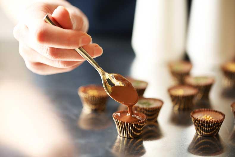 Hjemmelavet chokolade
