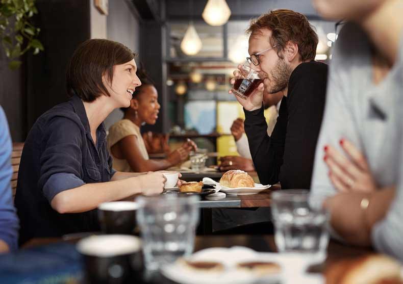 Date på cafe