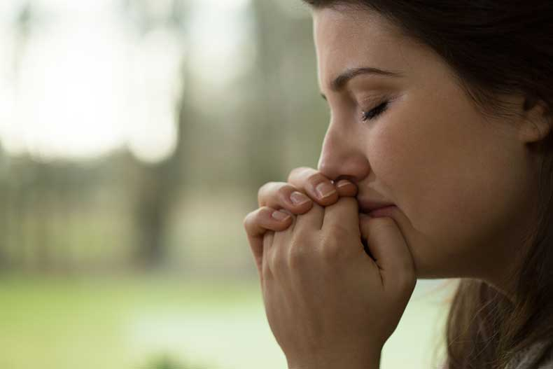 Kvinde der græder