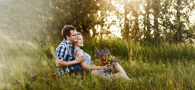 Par der nyder livet udenfor
