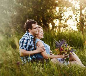 Photoshoot af par