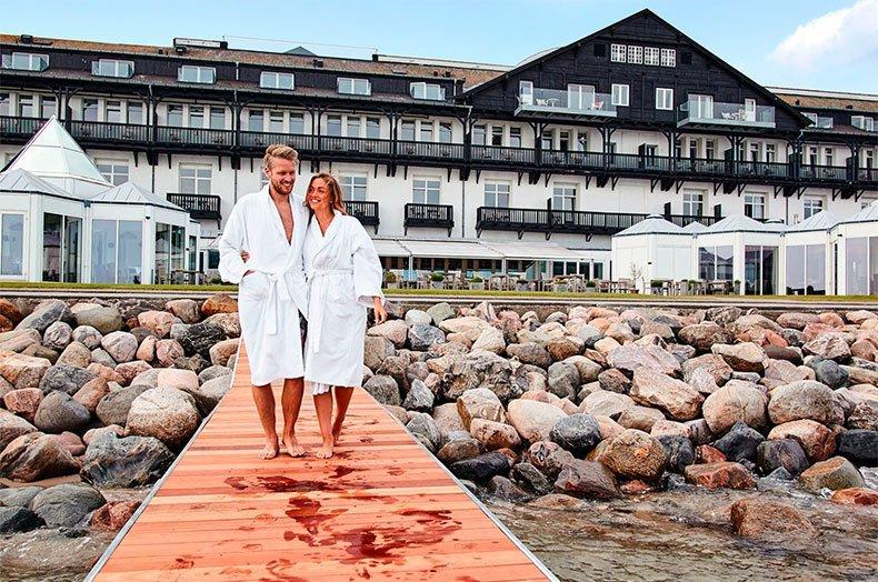 Ophold på Hotel Marienlyst i Helsingør