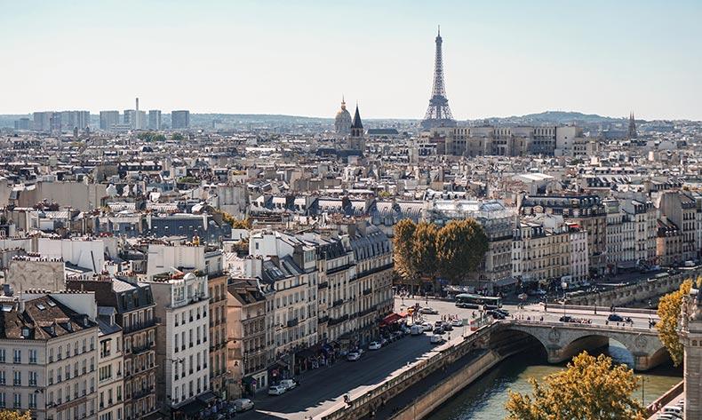 Forlænget weekend i Paris