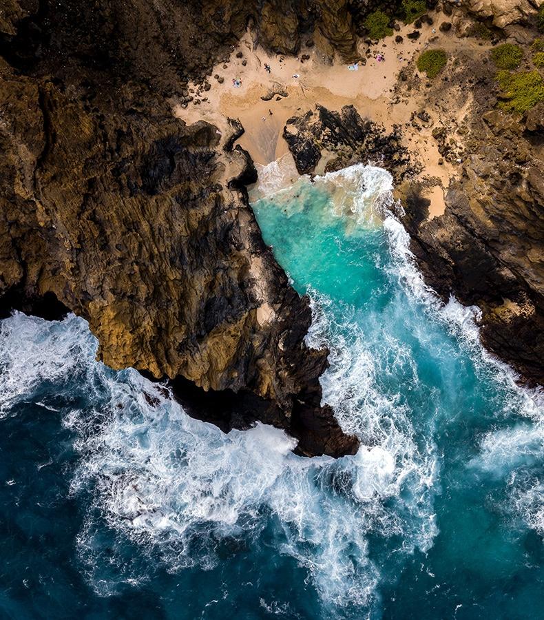 Bryllupsrejse til Hawaii