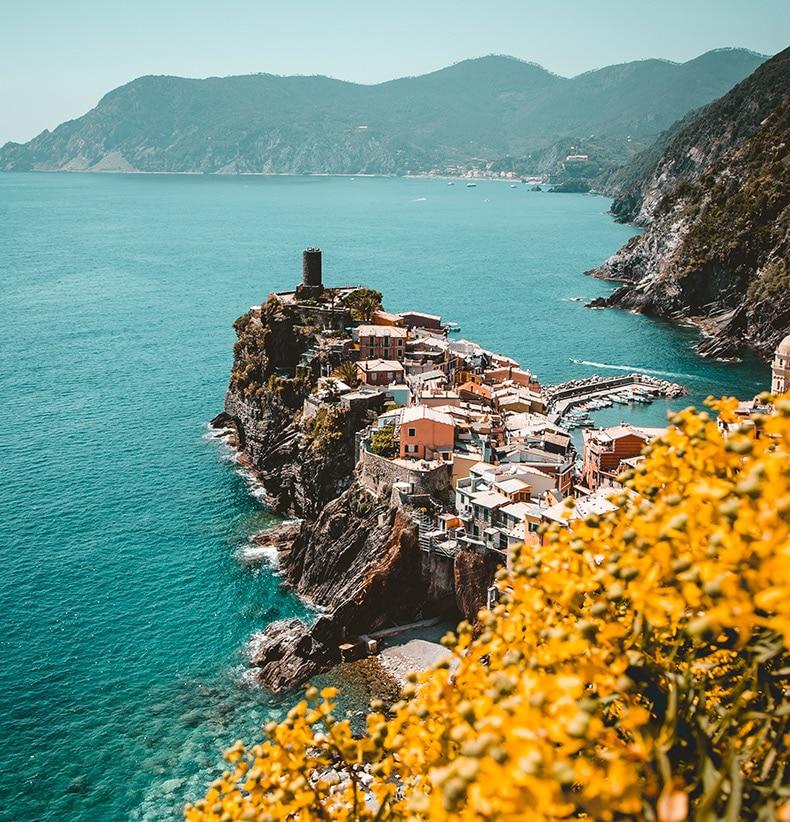 Bryllupsrejse til Italien