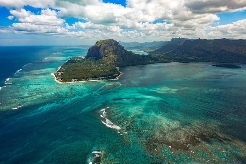 Bryllupsrejse til Mauritius