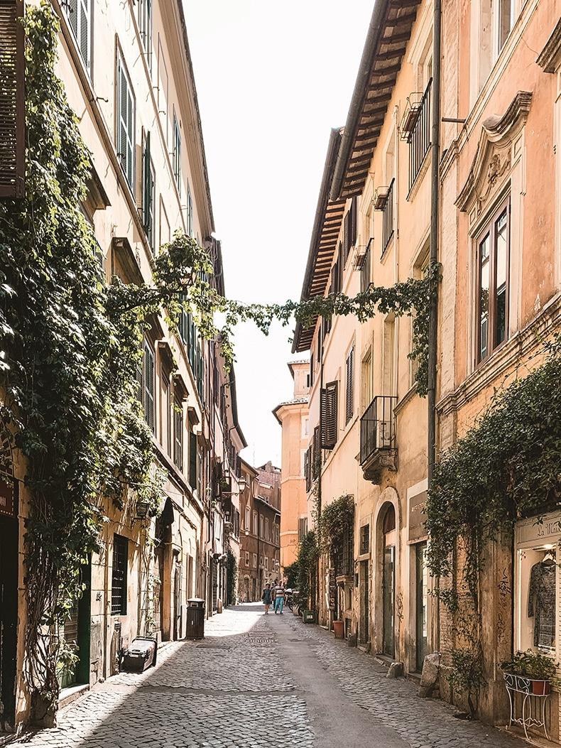 Bryllupsrejse til Rom
