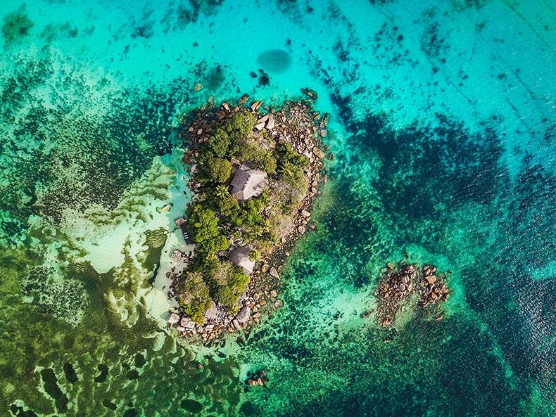 Bryllupsrejse til Seychellerne