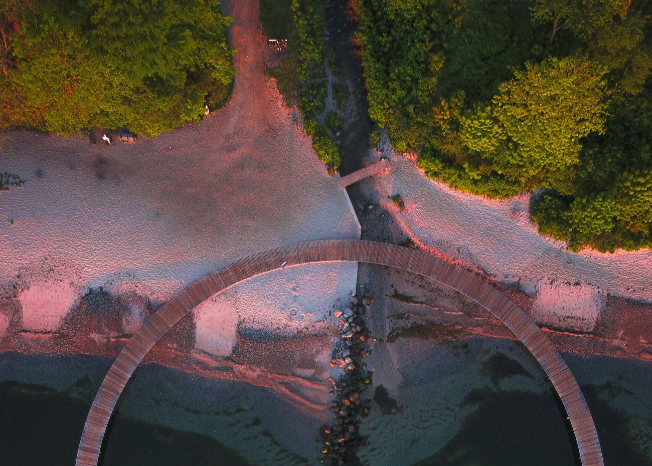 Den uendelige bro i Århus er en god oplevelse for 2