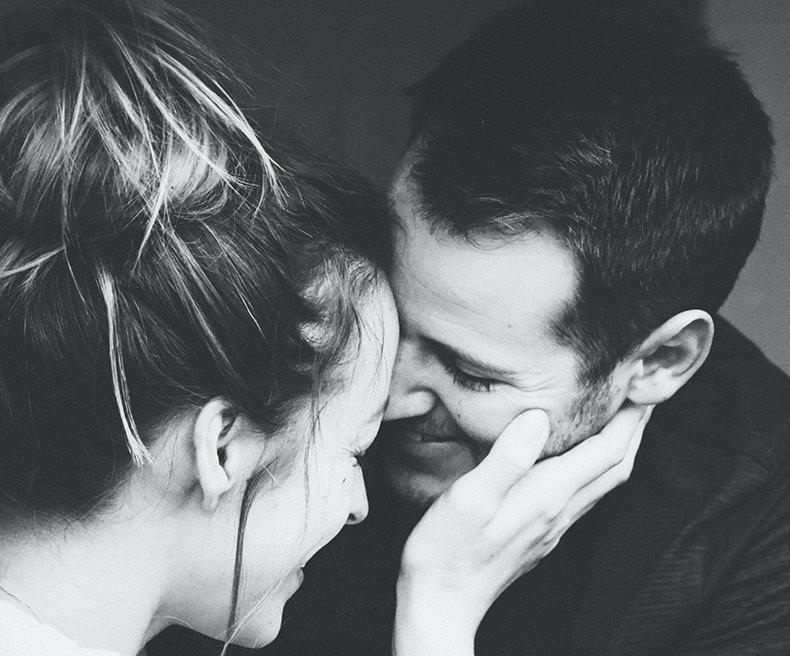 Et par der er tæt på hinanden