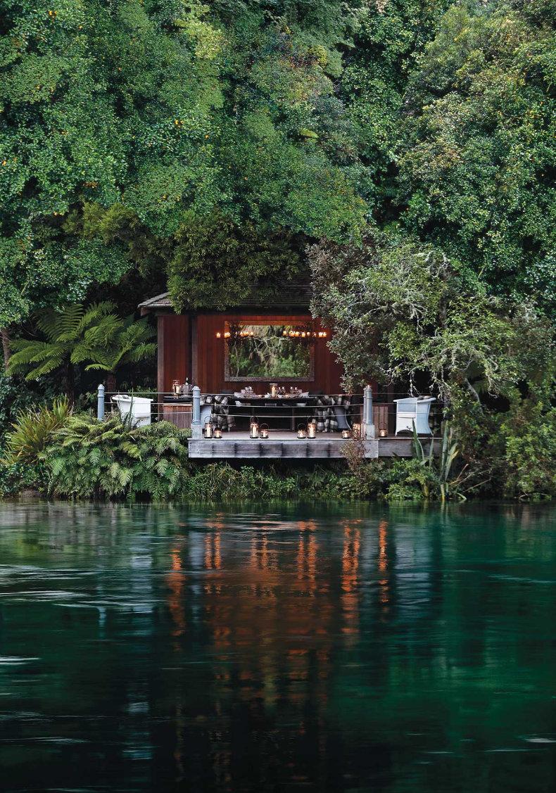 Huka Lodge på New Zealand