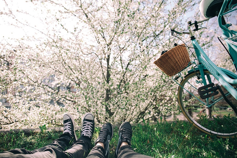 Kæreste aktivitet forår