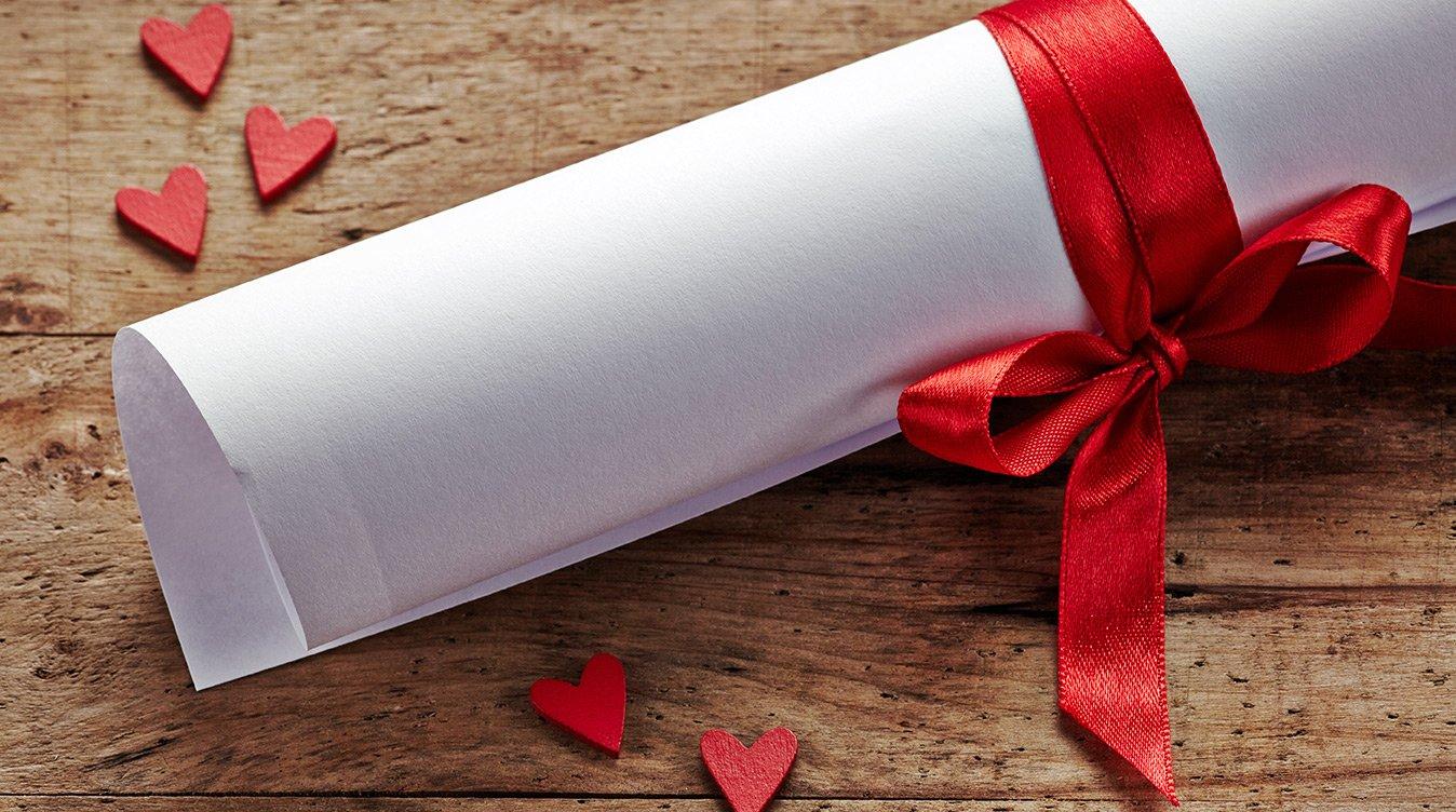 Det perfekte kærestebrev