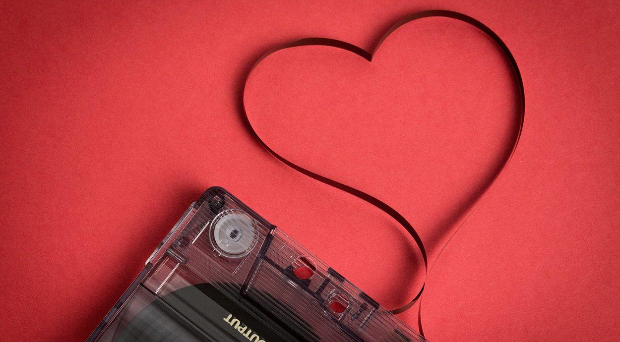 Her er de bedste kærlighedssange