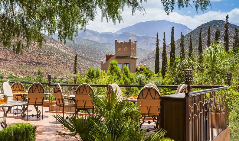 Kasbah Tamarot i Marokko