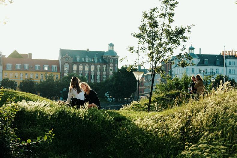 København i solskin