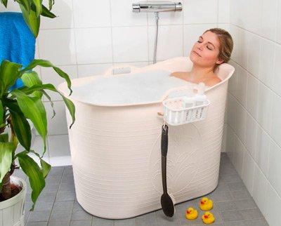Kompakt badekar
