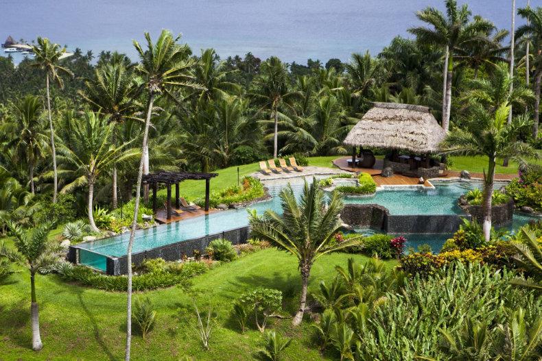 Laucala på Fiji