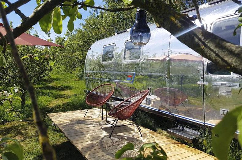 Luksus Camping i Airstream