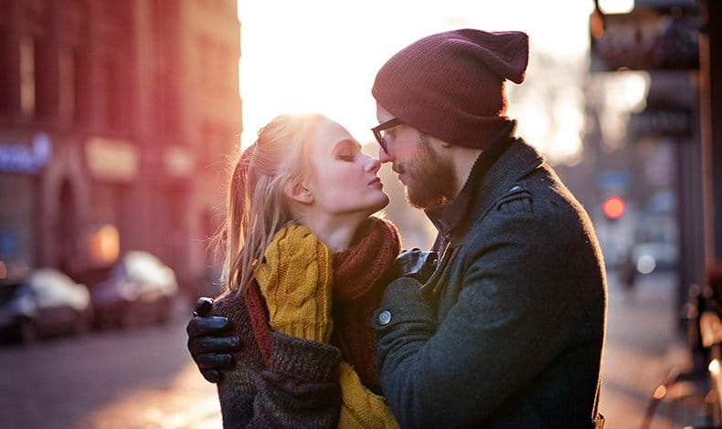 Par der har fundet kærligheden