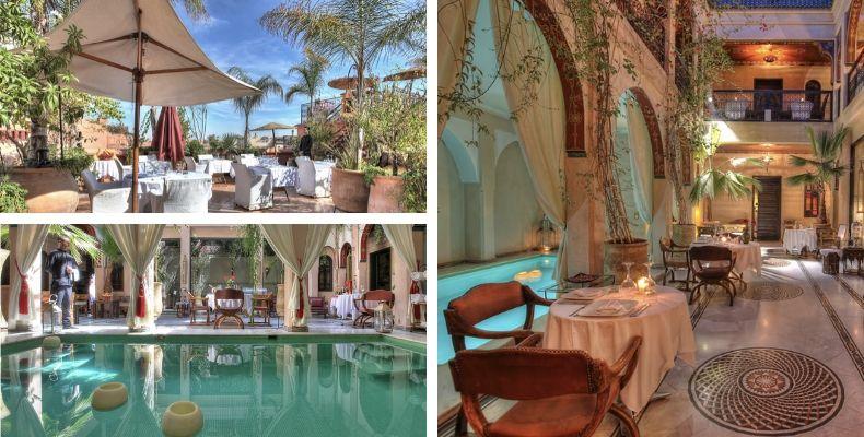 Riad Anika i Marrakech
