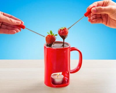 Romantisk fondue