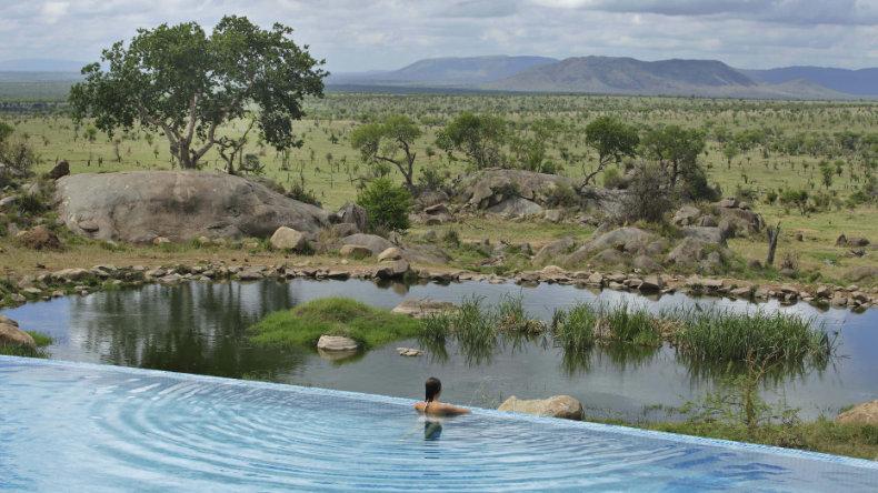 Safari Lodge Serengeti i Tanzania