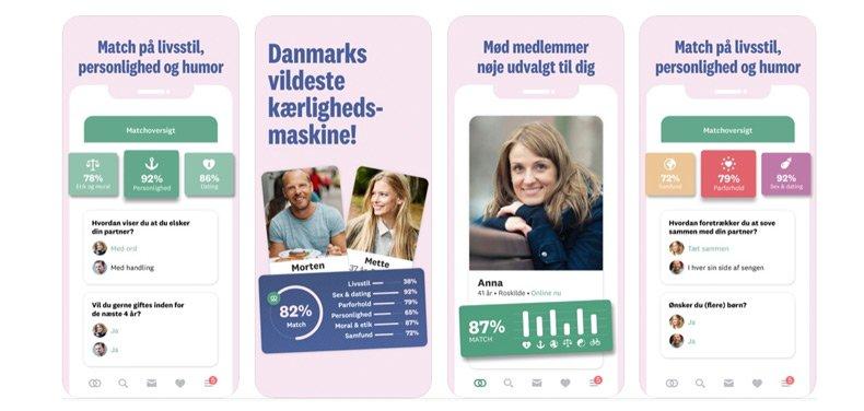 Single.dk app