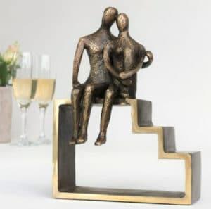 Smuk bronze skulptur