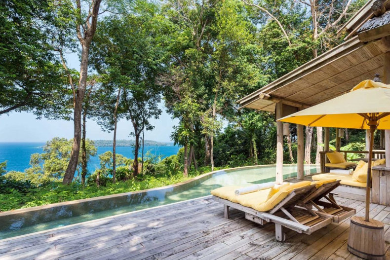 Soneva Kiri i Thailand
