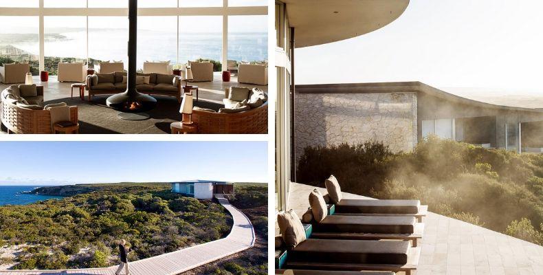 Southern Ocean Lodge i Australien