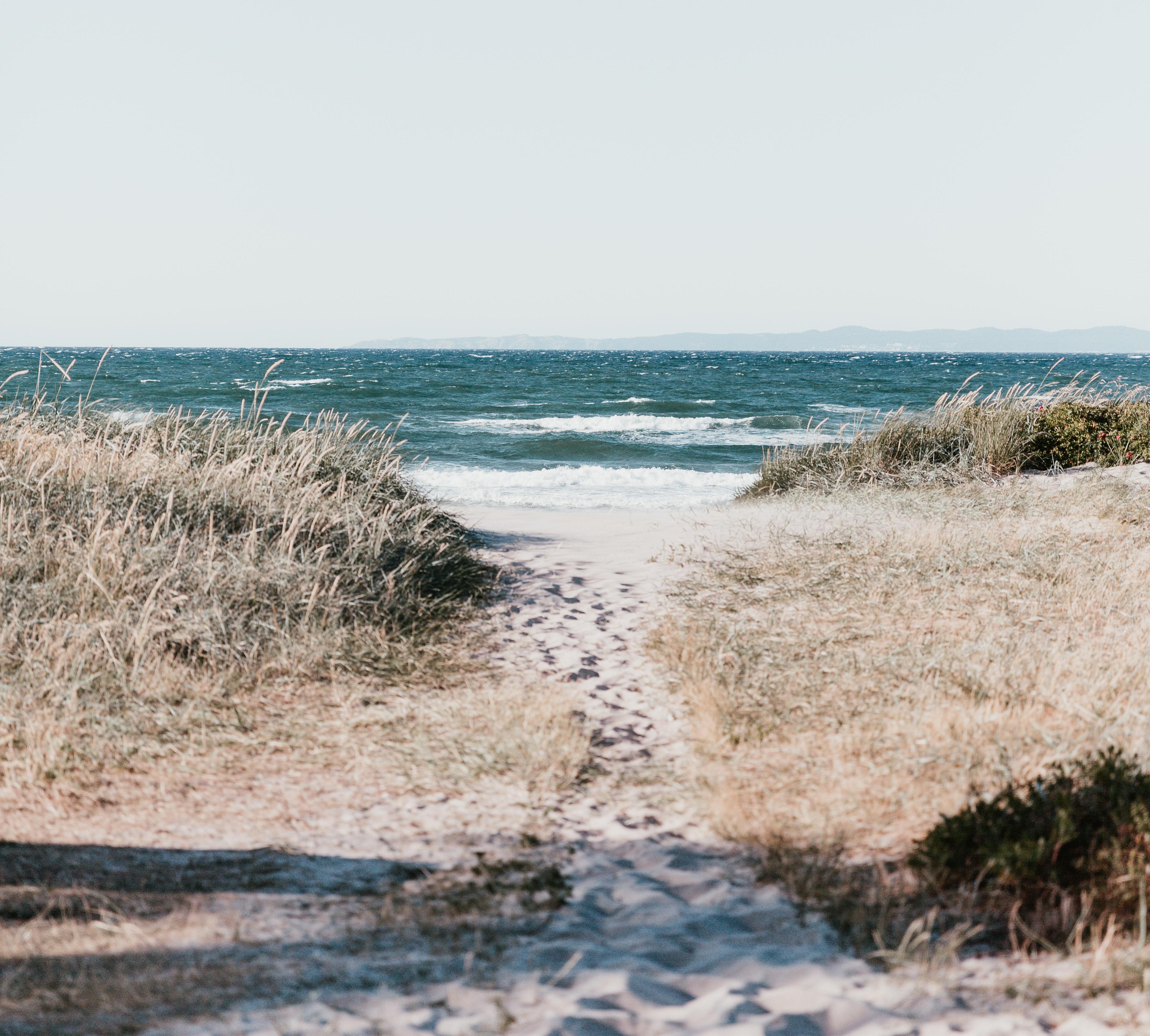 Strand i Danmark