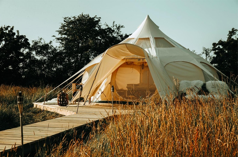 Glamping på Thorseng Nature Resort